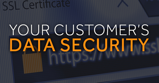 data security with SSL