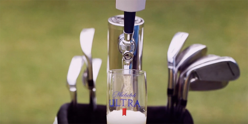 Big Rig Media Gadget of the Month - The Michelob Ultra Caddie Bag