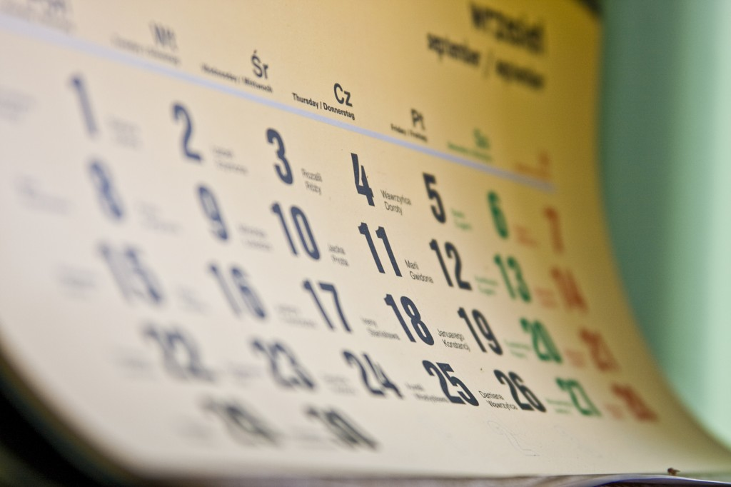 Prepare Your Marketing Calendar for Next Year