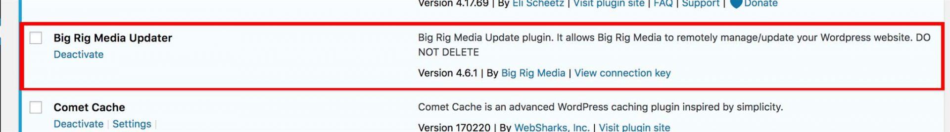 Big Rig Media Updater