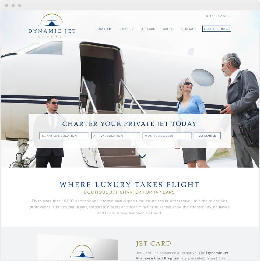 Private Jet Charter Marketing Firm