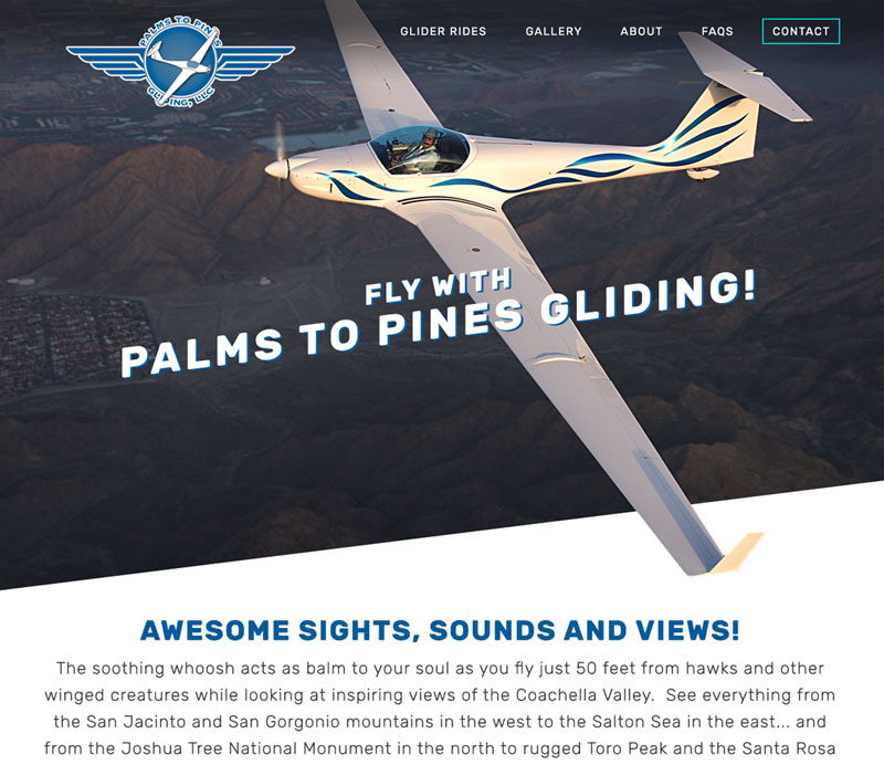 Palms to Pines Gliding