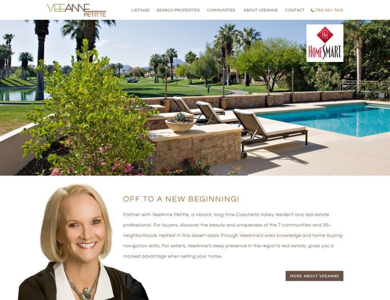 New Palm Springs Realtor Website Design