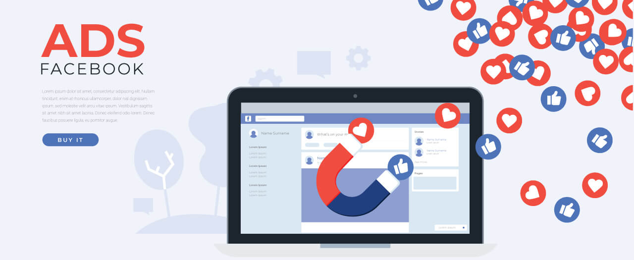 Social Media Advertising | Facebook Advertising | Image by: freepik.com